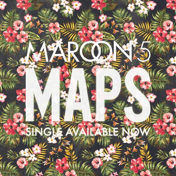 Maps-Maroon5-single
